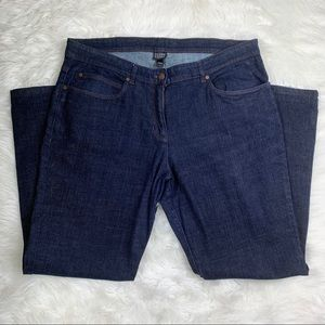 Eileen Fisher High Waisted Straight Leg Jean